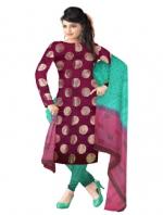Online Supernet Salwar Suit-12
