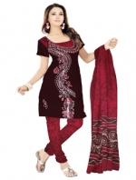 Online Batik Printed Salwar Suits-8