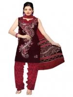 Online Batik Printed Salwar Suits-7