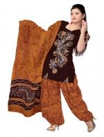Online Batik Printed Salwar Suits-5