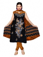 Online Batik Printed Salwar Suits-4