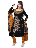 Online Batik Printed Salwar Suits-2