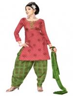 Online Cotton Printed Salwar Suits-2