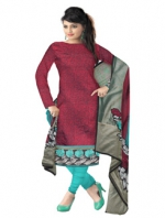 Online Cotton Silk Salwar Suit-45