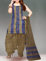 Online Pochampally Cotton Salwar Kameez-16