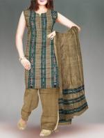 Online Pochampally Cotton Salwar Kameez-13