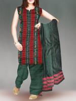 Online Pochampally Cotton Salwar Kameez-11