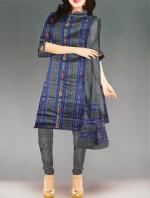 Online Pochampally Cotton Salwar Kameez-10