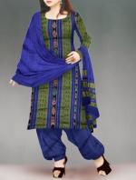 Online Pochampally Cotton Salwar Kameez-9