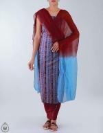 Shop Online Sambalpuri Cotton Salwar Kameez 41